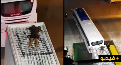"""قاصر """"يحرك"""" على سطح عربة مجرورة ببني نصار"""