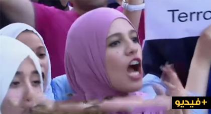 إسبانيا.. مسلمون يخرجون في مظاهرة تضامنية مع ضحايا هجوم برشلونة ويرددون انا مسلم و لست إرهابيا