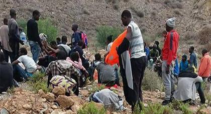 """توقيف نحو 57 مهاجرا سريا بشاطئ """"أربظة"""" بإقليم الدريوش."""