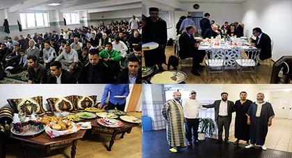عمدة فرانكفورت يزور جمعية طارق بن زياد بمناسبة عيد الأضحى