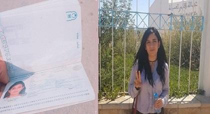 """ناشطة حراك الريف """"سيليا"""" تحصل أخيرا على جواز سفرها بعد طول انتظار"""