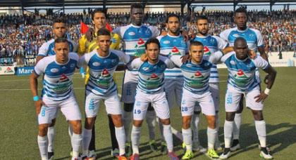 شباب الريف الحسيمي يتعادل في ميدانه أمام حسنية أكادير في أول مباراة له هذا الموسم