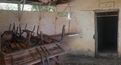 مدرسة بإقليم الحسيمة تعيش وضعا كارثيا و المدرسون لم يلتحقوا بعد