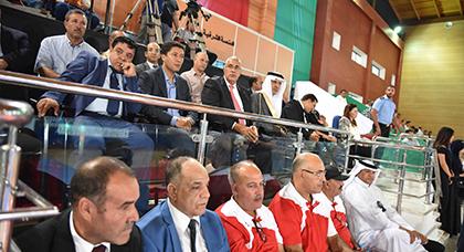 بعيوي يؤكد على دعم مجلس جهة الشرق للقطاع الرياضي