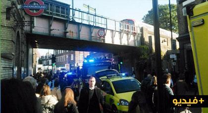 إنفجار قوي يهز لندن هذا الصباح.. تفجير داخل محطة مترو الأنفاق يصيب عدد من الركاب