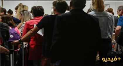 بالفيديو.. توقيف زعيم خلية إرهابية من أصل مغربي بمطار زفنتيم بالعاصمة بروكسل