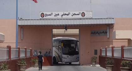 إدارة سجن عكاشة تقدم توضحيات بخصوص الوضع الصحي لمعتقلي الحراك