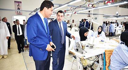 رئيس جهة الشرق يدشن وحدة صناعية بتكنوبول وجدة