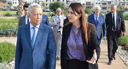 الوزيرة لمياء بوطالب في قلب فضيحة جديدة.. إقتنت مكاتب من النوع الرفيع بـ 250 مليون