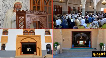 رئيس المجلس العلمي للدريوش وفعاليات وازنة يشرفون على إفتتاح مسجد الإمام مالك بجماعة ميضار