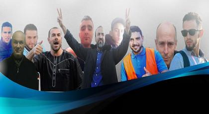 """معتقلو """"حراك الريف"""" بالجناح 8 يعلقون إضرابهم عن الطعام وجلول والأبلق وأحمجيق يبلغون الـ40 يوما"""