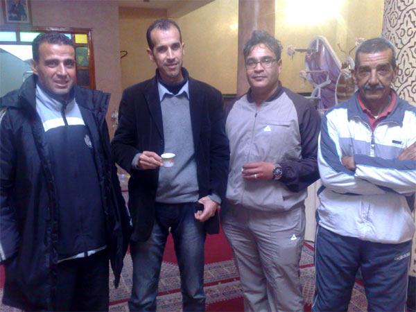 حوار مع مصطفى الراضي مدرب هلال الناظور لكرة القدم
