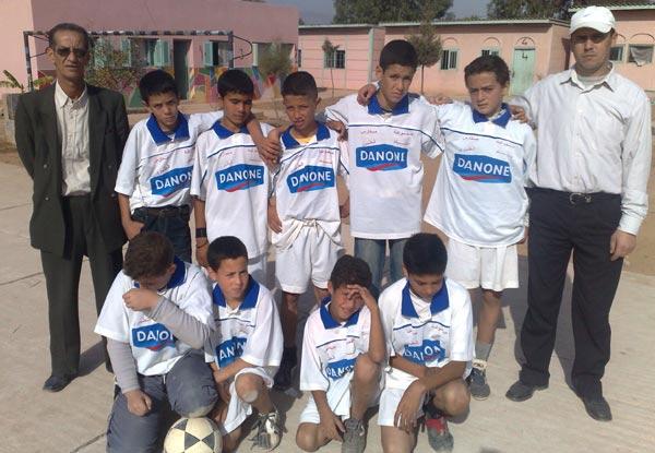 إنسحاب مدرسة الإمام الطبري ببوعرك من المباراة النهائية للبطولة المدرسية لكرة القدم بسلوان
