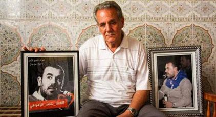 """والد """"ناصر الزفزافي"""" يقاطع زيارة إبنه بسجن عكاشة.. وهذا هو السبب"""