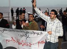 المعطلين بالناظور في وقفات إحتجاجية إنذارية