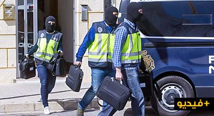 بالفيديو.. اعتقال مغربي في فلانسيا يشتبه في انتمائه لخلية تجنيد تابعة لتنظيم ( داعش ) الإرهابي