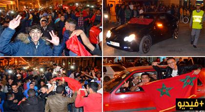 الدريوش.. تأهل الأسود للمونديال يخرج الساكنة للإحتفال وجولات ميدانية للعناصر الأمنية لتنظيم حركة السير