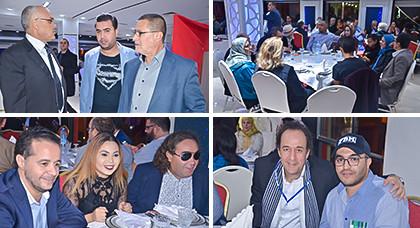 مطعم دار النسيم يقيم مأدبة عشاء على شرف ضيوف مهرجان السينما بالناظور