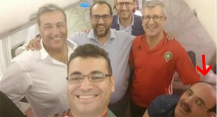 إلياس العماري يخلق الجدل.. ظهوره في طائرة المنتخب المغربي يتحول إلى موضوع للانتقادات