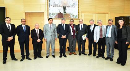 خلال استقباله وفدا فرنسيا.. بعيوي يؤكد أن تعزيز الإستثمار بجهة الشرق أولوية قصوى في إستراتيجية المجلس
