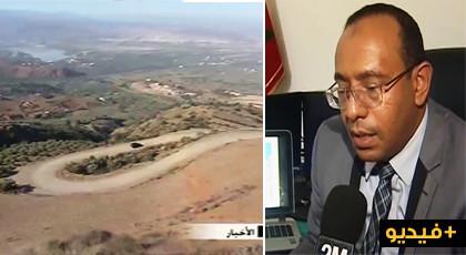 المدير الاقليمي لوزارة التجهيز يؤكد قرب إنطلاق مشروع إصلاح وتوسيع المقطع الطرقي تمسمان إمزورن