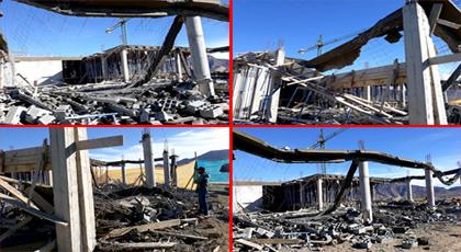 كارثة.. انهيار سقف مستشفى يوجد في طور الإنجاز بميضار ونقل عاملين في حالة خطيرة للمستعجلات
