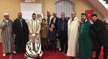 مسجد حمزة بالعاصمة البلجيكية بروكسيل يحتفل بذكرى المولد النبوي الشريف