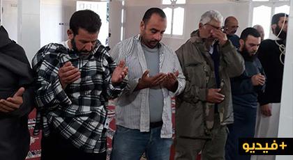 خليفة قائد قيادة بني سعيذ يترأس مراسيم صلاة الاستسقاء بمسجد المركز بجماعة دار الكبداني