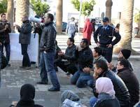 معطلوا الناظور يقررون تنظيم مسيرتين إحتجاجيتين بالمدينة خلال الأسبوع الجاري