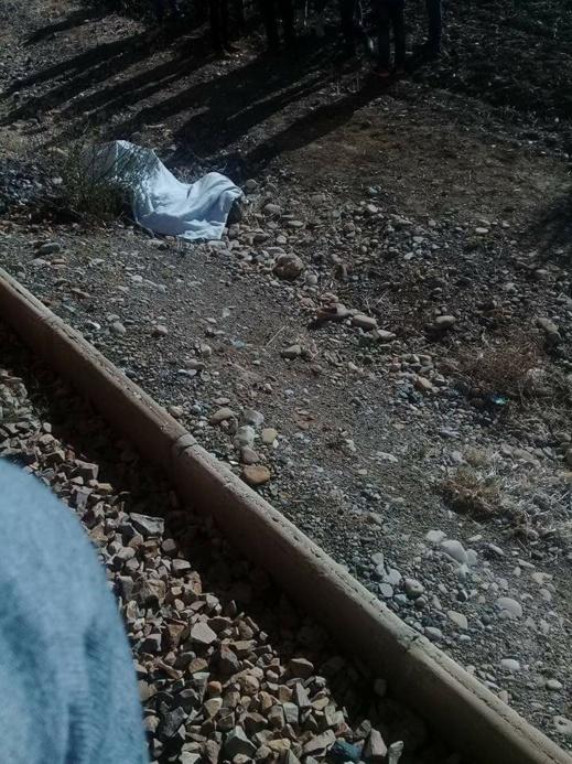 بالصور.. القطار يقتل راعية غنم قرب تازة ويتسبب في نفوق عدد من رؤوس الأغنام