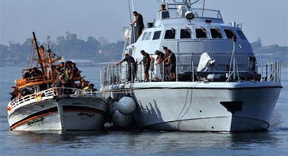 عملية بحث واسعة في بحر البوران للعثور عن قاربين يحملان مهاجرين سريين إنطلقا من سواحل الريف