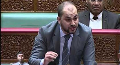 الأندلسي للرميد داخل قبة البرلمان: هل يمكن أن نصدق أن مرتضى إعمراشا إرهابيا أم أنه كان من نشطاء الحراك؟