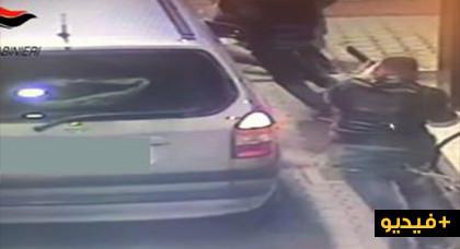 فرقة أمنية تنشر شريط فيديو يوثق لاعتداء بواسطة بندقية على مهاجر مغربي