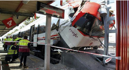 إسبانيا .. إصابة 39 شخص بجروح في حادث قطار قرب مدريد