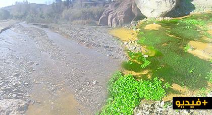 ندرة المياه بواد أمقران