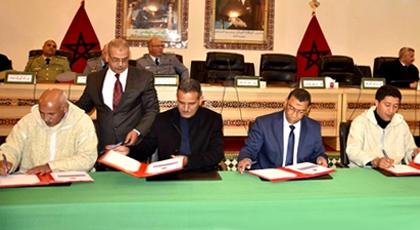 رئيس مجلس جهة الشرق يوقع اتفاقيات بـ 84 مليون درهم لانجاز مشاريع تنموية وبنيوية بإقليم فجيج