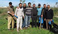 فرع أركمان للأوراش المغربية للشباب ينظم ورشه البيئي الأول