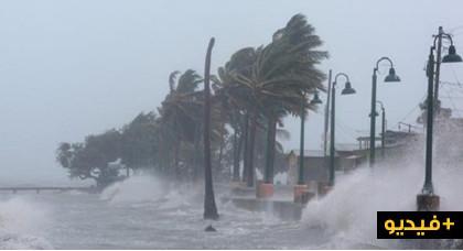 """بالفيديو.. فرنسا تحت رحمة عاصفة """"إليونور"""" التي أودت بحياة 5 أشخاص وجرح 20 آخرين"""
