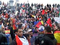 تغطية خاصة: الآلاف من المغاربة يحتشدون بغرناطة للتعبير عن دعمهم لمقترح الحكم الذاتي