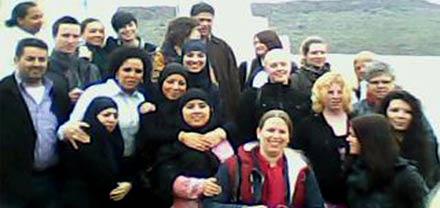 وفد هولندي يزور جمعية بروال في إطار تنسيقية أكراو ببني سيدال الجبل