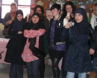 زيارة مجموعة من طلبة وأطر جامعة هولندية لجمعية آفاق للتنمية البشرية ببني شيكر