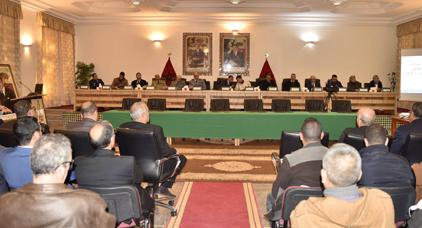 مجلس جهة الشرق يعقد دورة استثنائية لمناقشة الوضعية الاقتصادية والاجتماعية بإقليم جرادة