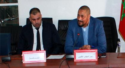 النائب الثاني لرئيس المجلس الإقليمي للدريوش يقود لقاء تنسيقيا مع رؤساء المصالح لوضع لبنات برنامج التنمية