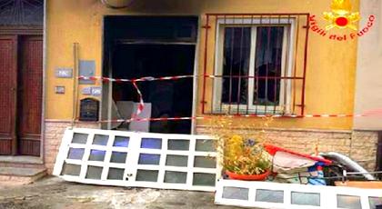 نجاة أم مغربية وابنها من إنفجار قنينة غاز بمنزلهما بإيطاليا