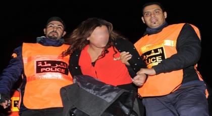 الأمن يلقي القبض على إمرأة إستغلت رضيعها لتهريب الإكستازي