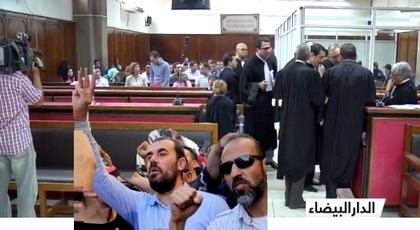 """القاضي على الطرشي يرفض الاعتذار لنشطاء الحراك حول سؤال """"واش نتا مغربي"""" والزفزافي ورفاقه يصعدون"""