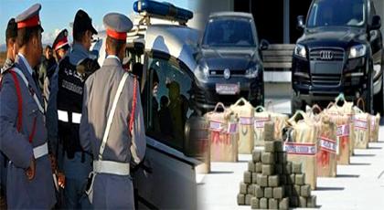 الدريوش.. الدرك الملكي يوقف نشاط زعيم عصابة لتهريب المخدرات ويحجز بحوزته على سيارات مسروقة وزودياك