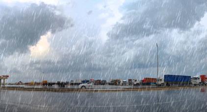نشرة انذارية.. مديرية الارصاد تتوقع هطول امطار رعدية قوية ومعتدلة بالناظور و الدريوش