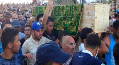 """الحسيمة.. السجن 10 سنوات لمتهمين جرى اعتقالهم على خلفية جنازة """"عماد العتابي"""" الصيف الماضي"""