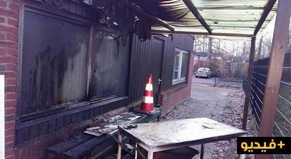 اضرام النار بمسجد يرتاده المغاربة في دراختن بهولندا